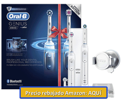 cepillo orabl genius 8900 en Amazon