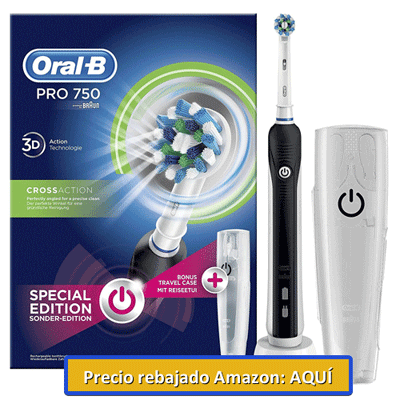 cepillo de dientes oral b 750 en amazon